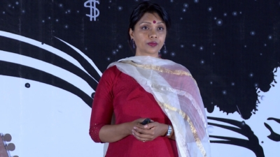 Ekta Bouderlique Tedx covered by FlowInk Pictures