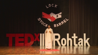 TEDx IIM Rohtak Wajid Khan edited and covered by FlowInk Pictures